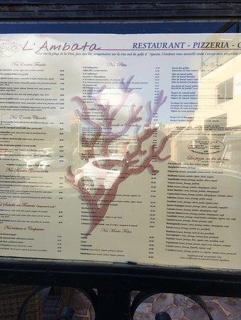 Carte Corse Porticcio.Carte Photo De L Ambata Porticcio Tripadvisor