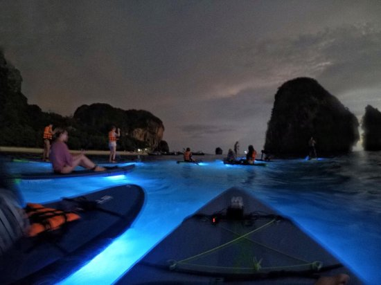 Railay Beach, Thailand: Magnificent night tour!