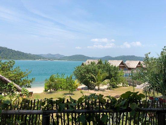 Sugi Island, Ινδονησία: view from dining room
