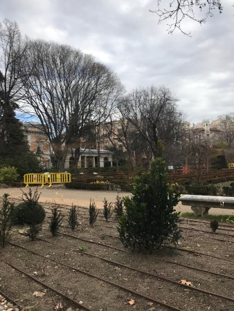 Royal Botanic Garden : Zonas de trabajo en la remodelación que se abrirá en Marzo de 2018