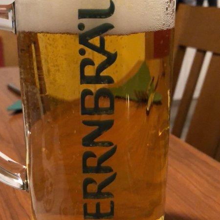 Hofmark Brauereigasthof: Bay. Kraut m. Schwein und Bier vom Fass