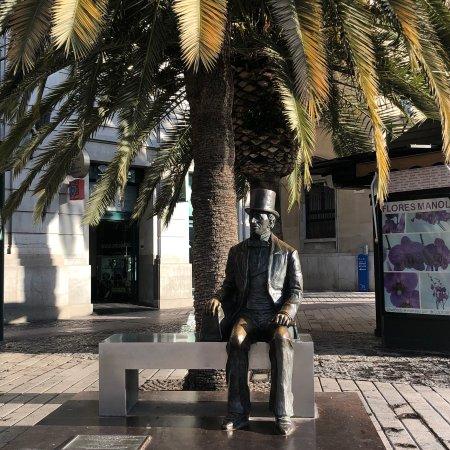 Estatua de Hans Christian Andersen Photo