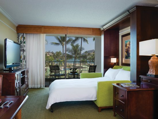 Marriott's Kaua'i Beach Club: Ocean View - Parlor & Villa Living Room Wall Bed