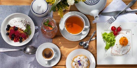 Revnice, สาธารณรัฐเช็ก: Každodenní nabídka snídaní.