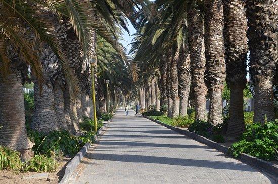 Свакопмунд, Намибия: Promenade walkway