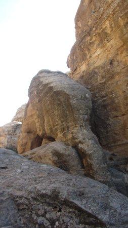Dana, Giordania: roccia elefante