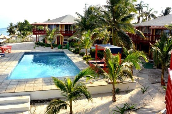 Seine Bight Village, Belice: Pool Area