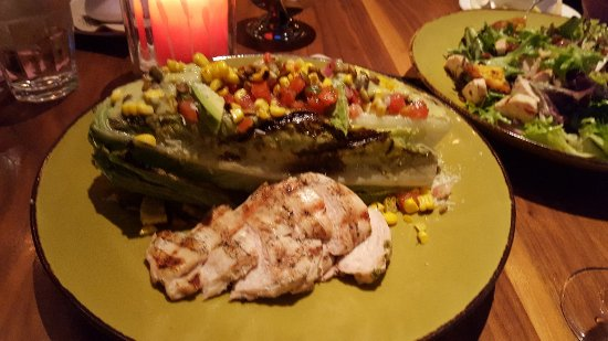 Jimmy's Famous American Tavern: Signature Grilled Santa Fe Caesar with Chicked