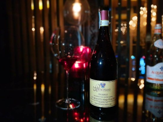 The District Grill Room and Bar: barolo for the night