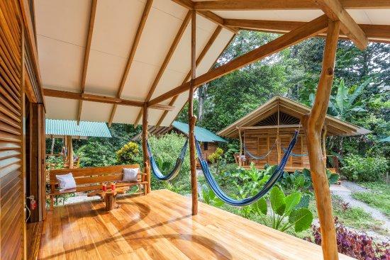 Cocles, Kosta Rika: terraza