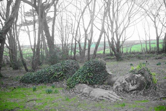 St Austell, UK: my take on the sleeping maid