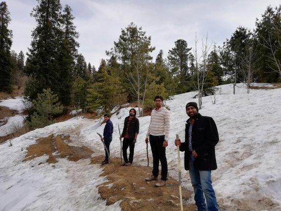 Nathia Gali, Pakistán: Winter view's of Mushkpuri