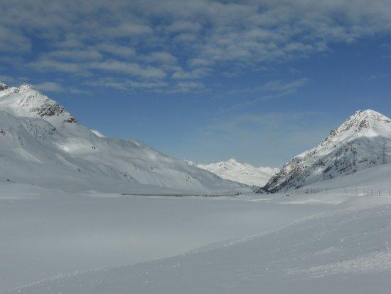 Bernina Pass: Osprizio Bernina