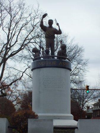 Monument Avenue: Arthur Ashe