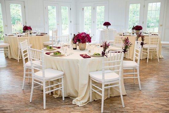 Lovettsville, Βιρτζίνια: Interior of Solarium Reception Hall