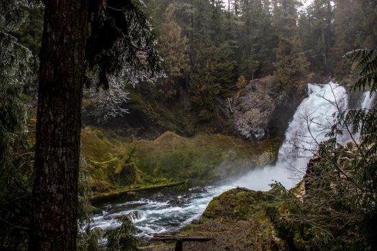 Sisters, OR: Sahalie Falls