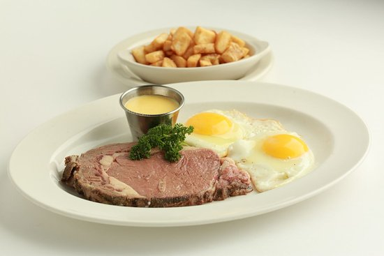Columbus, MS: Steak & Eggs