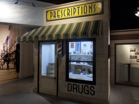 Museum of Science and History : prescription store