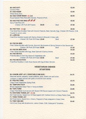 Thai Restaurant Purley