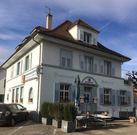 Allschwil, Switzerland: Ici on est bien reçu et on mange divinement bien!