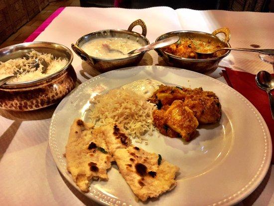 Annapurna Restaurant: Madras chicken curry