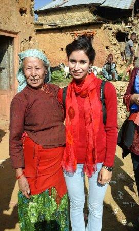 Balthali, Nepal: Sabina hilft nach Erdbeben