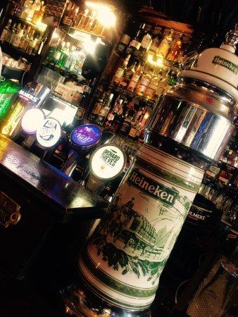 The Brazen Head: Heineken Tap
