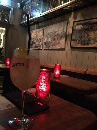 Bakgarden: Bubble something, refreshing cocktail