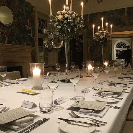 Fig: Private fine dining for 20.  This was a 50th Birthday celebration with 5 course tasting menu, wi