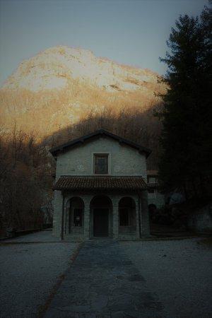 Canzo, Italië: L'eremo come si presenta alla fine della passeggiata