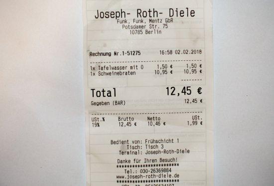 joseph roth diele berlin charlottenburg restaurant avis num ro de t l phone photos. Black Bedroom Furniture Sets. Home Design Ideas