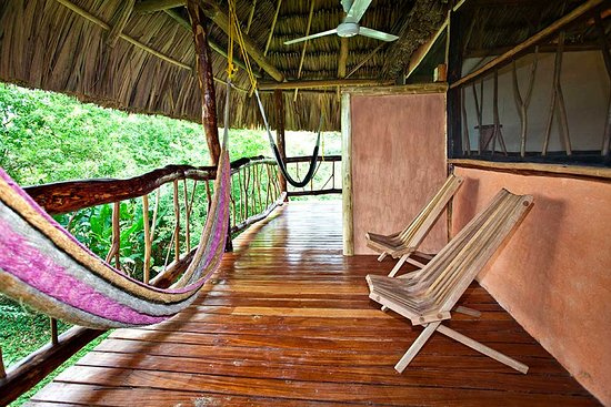 Cotton Tree Lodge: Deluxe Two-Bedroom Cabana Balcony