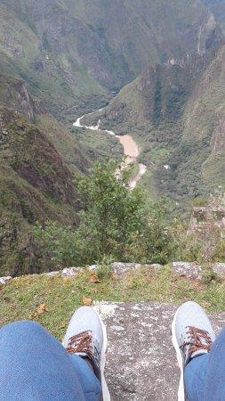 Moon Temple: vista desde el huayna