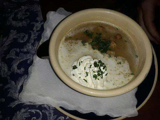 Altfrankische Weinstube : Kartoffelsuppe