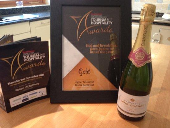 Cornworthy, UK: Awards