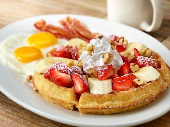 Thornton, CO: Strawberry Banana Waffle