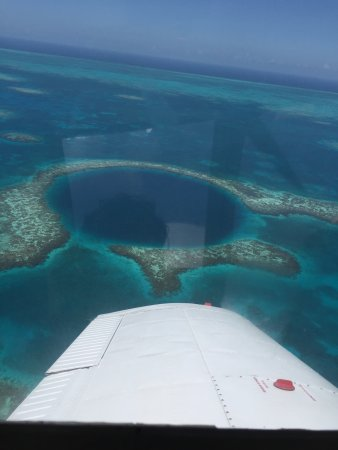 Belize: The great bluehole!