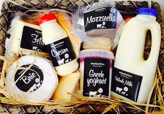 Richmond, Nueva Zelanda: Enjoy our full range including Yoghurts, Smoothies, Cheese and more