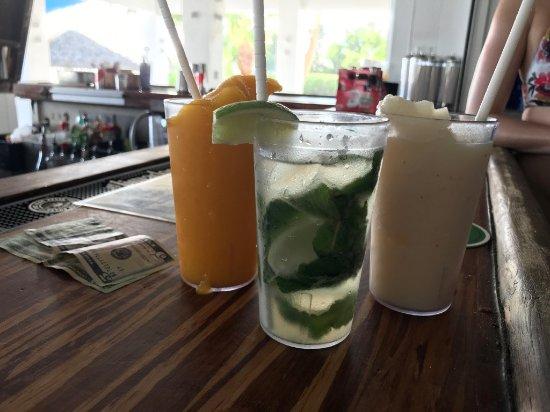 North Side, Grand Cayman: Virgin drinks