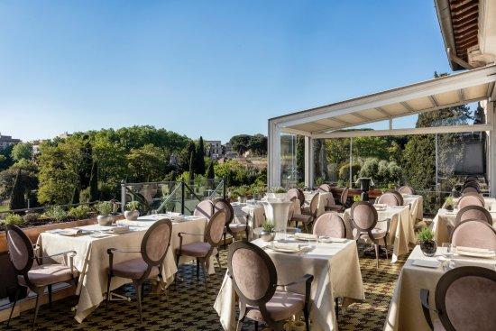 Aroma Restaurant Picture Of Palazzo Manfredi Relais