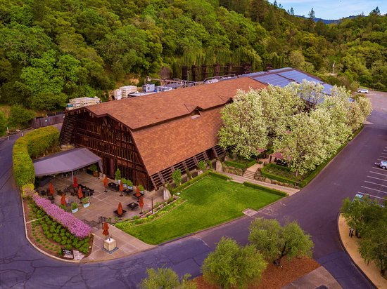 Rutherford Hill Winery from above