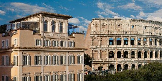 Palazzo Manfredi - Relais & Chateaux: View