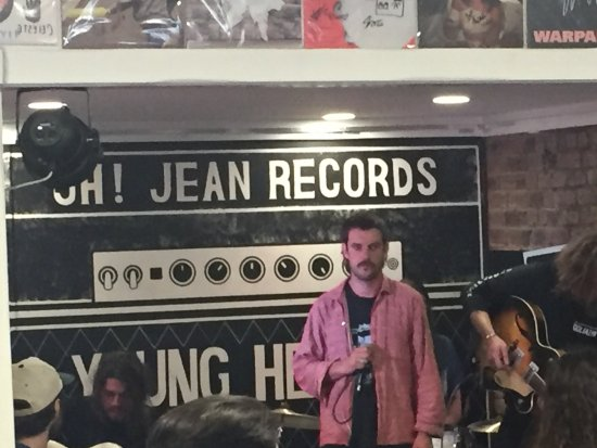Rriot House: Horace Bones played a rad instore
