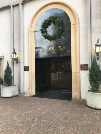 The Saint Paul Hotel: Exterior.