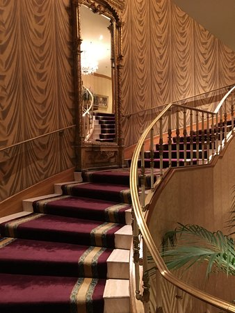 The Saint Paul Hotel: Loby Stairs.