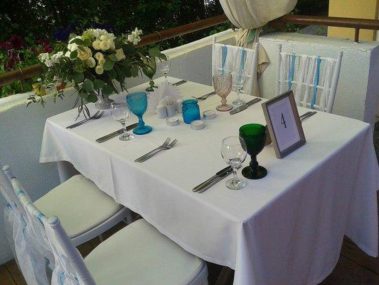 Restaurant «Freestyle»: Свадебное оформление