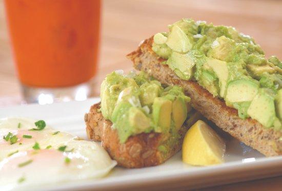 The Egg & I Restaurant: California Avocado Toast