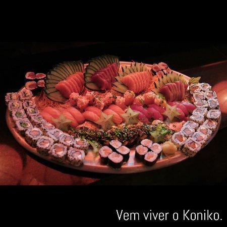 Koniko: Combinado de sushis variados