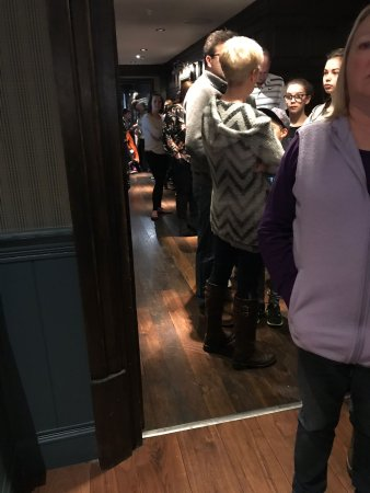 Slaley Hall: breakfast queue