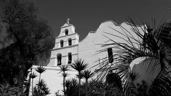 Mission San Diego de Alcala: Outside.